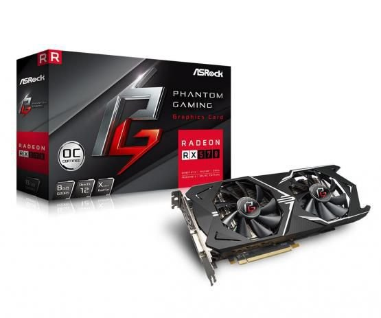 PLACA DE VIDEO ASROCK RADEON RX 570 8GB PHANTOM GAMING DDR5 256 BITS
