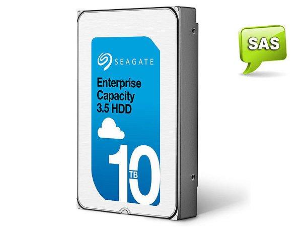 HDD 3,5 ENTERPRISE SERVIDOR 24X7 SEAGATE 2AA202-002 ST10000NM0206 10 TERA 7200RPM 256MB CACHE SAS 12GB/S