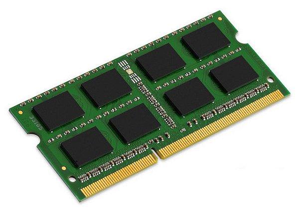 MEMORIA NOTEBOOK DDR3 KINGSTON KVR16LS11/8 8GB 1600MHZ DDR3L CL11 SODIMM LOW VOLTAGE 1.35V
