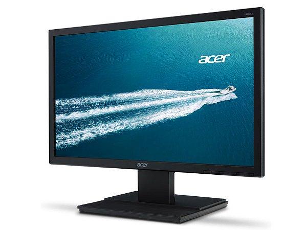 MONITOR LED 24 ACER V246HL 24 LED 1920X1080 WIDESCREEN FULL HD HDMI VGA DVI VESA