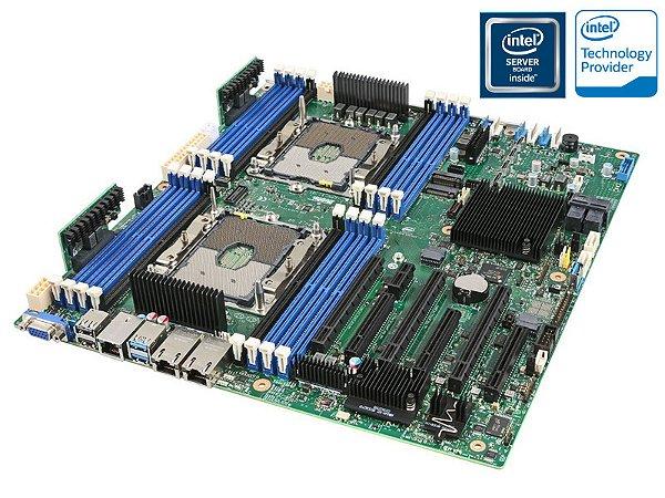 PLACA MAE SERVIDOR INTEL S2600STB DUAL XEON DDR4 LGA3647