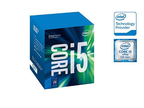 PROCESSADOR CORE I5 LGA 1151 INTEL BX80677I57500 I5-7500 3.40GHZ 6MB CACHE GRAF HD VPRO 7GERACAO