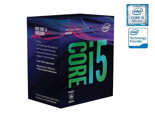 PROCESSADOR CORE I5 LGA 1151 INTEL BX80684I58600K HEXA CORE I5-8600K 3.6GHZ 9MB CACHE 8GER S/COOLER