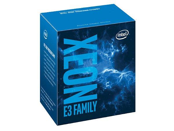 PROCESSADOR XEON E3 LGA 1151 INTEL BX80677E31220V6 QUAD CORE E3-1220V6 3.00GHZ 8MB 8GT/S DDR4|DDR3L