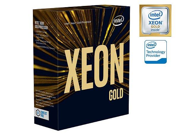 PROCESSADOR XEON ESCALAVEIS LGA3647 INTEL BX806736140 6140 GOLD 18 CORES 2.3GHZ 24,75MB 10,4GT/S S/COOLER
