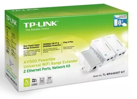 ACCESS POINT WIRELESS TK-WPA4220T KIT TP LINK