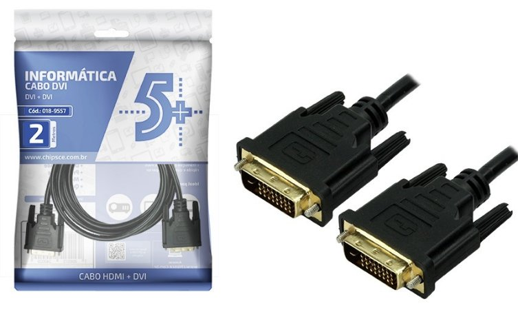 CABO DVI 2 M DVI 24 1 DVI 24 1 018-9557 5+