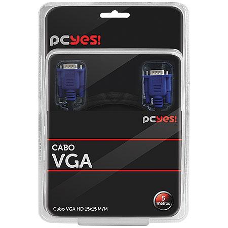 CABO VGA 5M HD15M X HD15M PCYES