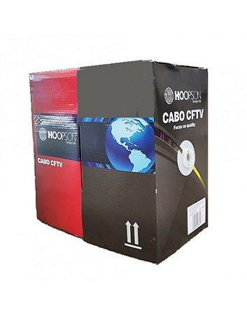 CAIXA DE CABO DE REDE 305 METROS CF-004 CAT5 PRETO HOOPSON