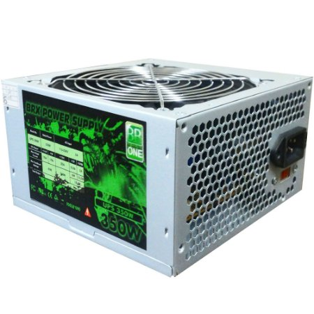 FONTE ATX 350W REAL 20/24 PINOS UP-S350 2*SATA 3* IDE BR-ONE