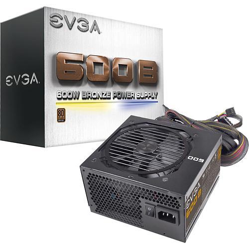 FONTE ATX 600W 24 PINOS 100-B1-3600-KB EVGA