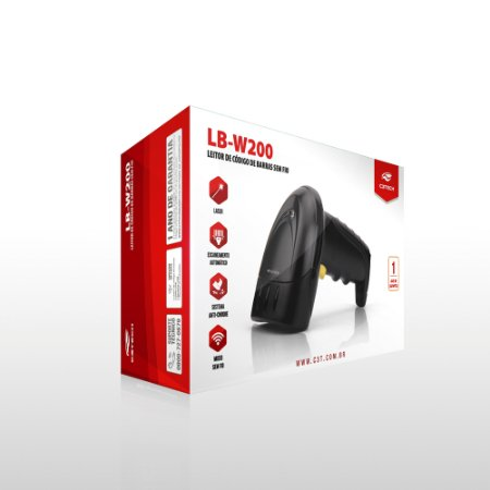 LEITOR WIRELESS LB-W200BK C3TECH