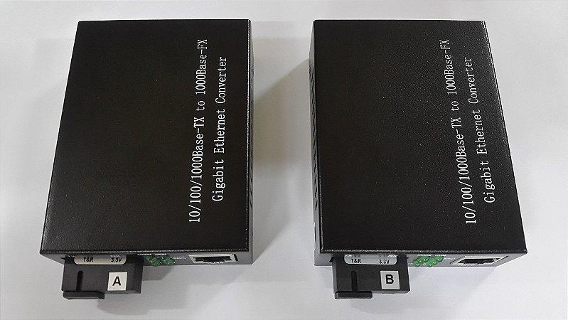 MEDIA CONVERTER 20KM 10/100/1000 HL-2111S-20A/B (PAR) GENERICA