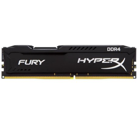 MEMORIA 16GB DDR4 2400 MHZ FURY HYPERX HX424C15FB/16 PRETO KINGSTON