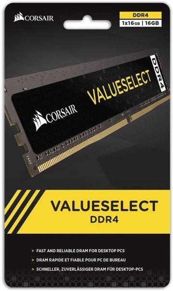 MEMORIA 16GB DDR4 2400 MHZ VALUESELECT CMV16GX4M1A2400C16 CORSAIR
