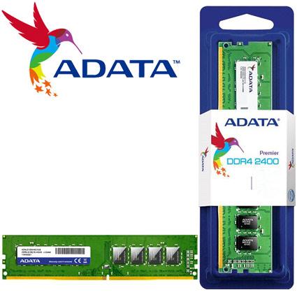 MEMORIA 4GB DDR4 2400 MHZ AD4U2400W4G17-S ADATA
