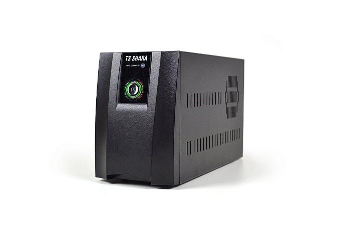 NO-BREAK 1400VA UPS COMPACT PRO/1BS ENT BIVOLT AUTO SAIDA 115/220V SELECIONAVEL TS SHARA