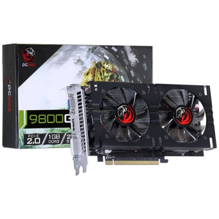 PLACA DE VIDEO 1 GB PCIEXP NVIDIA GEFORCE 9800 PJ980025601D3 256BITS DDR3 PCYES