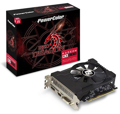 PLACA DE VIDEO 2GB PCIEXP RX 550 2GBD5-DHA/OC 128BITS GDDR5 RADEON POWER COLOR