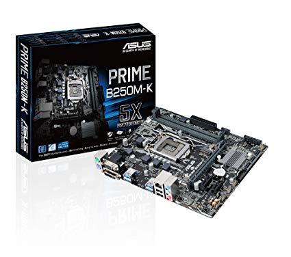 PLACA MAE 1151 MICRO ATX B250M-K DDR4 PRIME ASUS