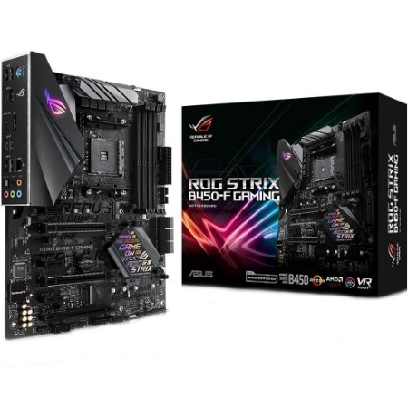 PLACA MAE AM4 ATX B450-F DDR4 ROG STRIX GAMING ASUS