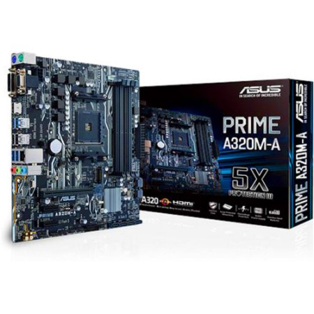 PLACA MAE AM4 MICRO ATX A320M-A DDR4 ASUS