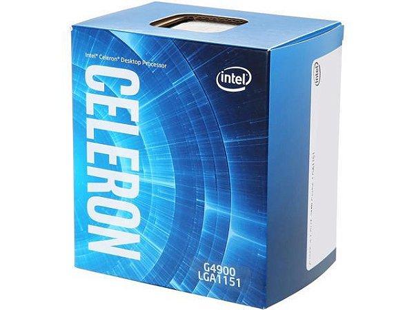 PROCESSADOR 1151 CELERON G4900 3.10GHZ COFFEE LAKE 2 MB CACHE DUAL CORE INTEL