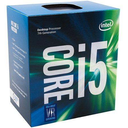 PROCESSADOR 1151 CORE I5 7600 3.5GHZ KABY LAKE 6 MB CACHE QUAD CORE INTEL