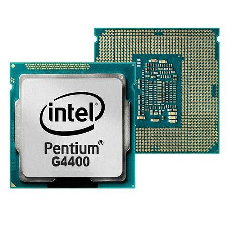 PROCESSADOR 1151 PENTIUM G4400 3.3 GHZ SKYLAKE 3 MB CACHE DUAL CORE INTEL SEM EMBALAGEM