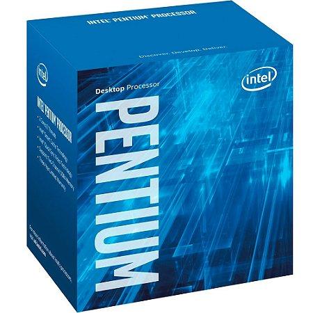 PROCESSADOR 1151 PENTIUM G4500 3.5GHZ SKYLAKE 3 MB CACHE DUAL CORE INTEL