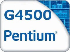 PROCESSADOR 1151 PENTIUM G4500 3.5GHZ SKYLAKE 3 MB CACHE DUAL CORE INTEL SEM EMBALAGEM