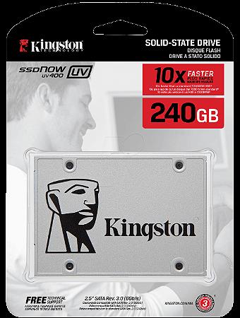 SSD 240GB SATA III SUV400S37/240G KINGSTON  IMPORTADO