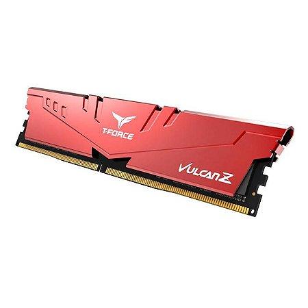 MEMÓRIA 8GB DDR4 2666MHZ T-FORCE VULCAN Z RED TEAM GROUP