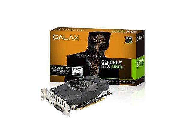 PLACA DE VIDEO 4GB PCIEXP GTX 1050 TI 50IQH8DSC7CB 128BITS DDR5 GEFORCE BOX