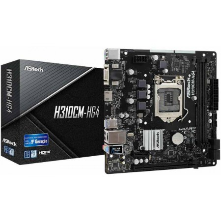 PLACA MAE 1151 MICRO ATX DDR4 H310CM-HG4 ASROCK BOX