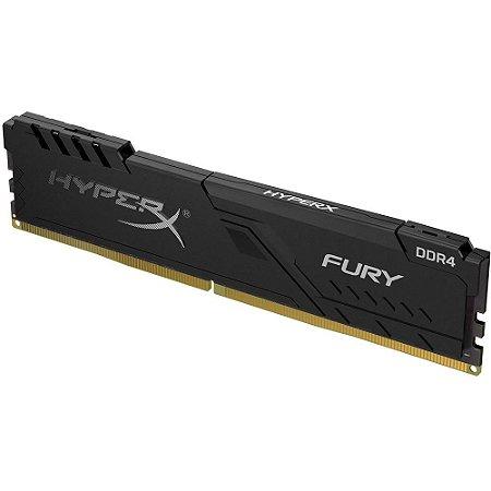 MEMORIA 8GB DDR4 2666MHZ HYPERX BLACK FURY HX426C16FB3/8 KINGSTON BOX