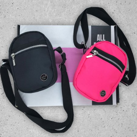 KIT - SHOULDER BAGS - BLACK&NEON