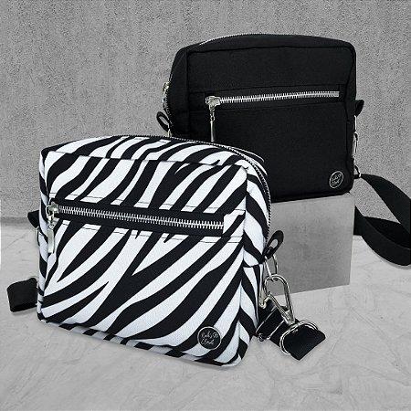KIT - CROSS BAGS - BLACK & ZEBRA