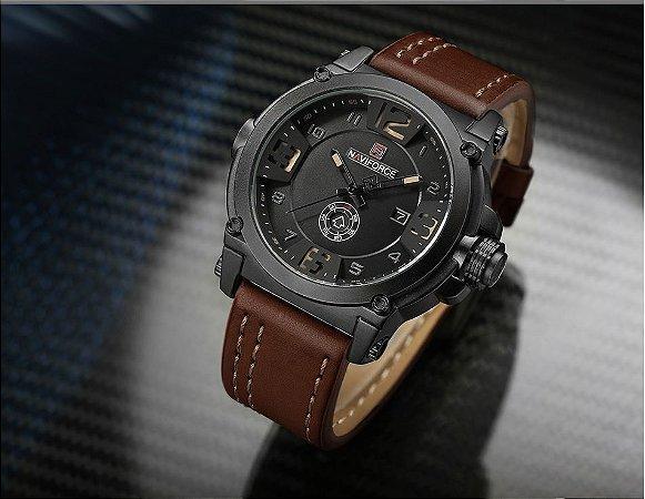 Relógio Masculino Militar Naviforce NF9099 Original