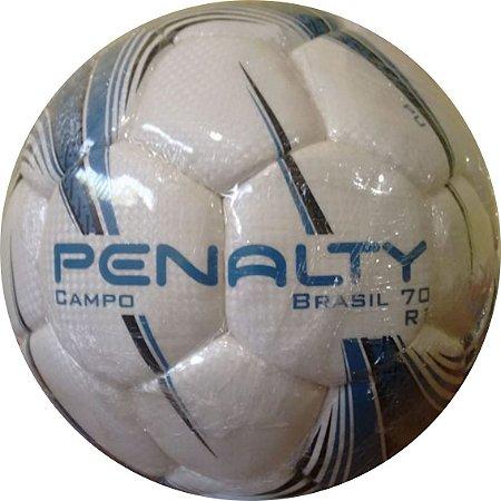 BOLA PENALTY CAMPO BRASIL 70 R1 ( com detalhes em Azul e Preto ... 8093c5bd9f375