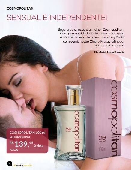 Cosmopolitan Be Emotion - Feminino 100ml