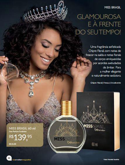 Miss Brasil Be Emotion - Feminino 100ML