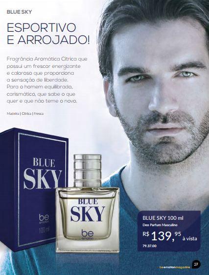 Perfume Blue Sky Be Emotion - Masculino 100ML