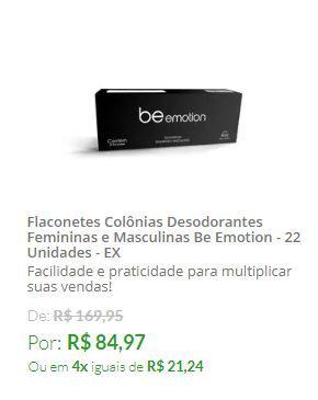 Flaconetes Colônias Desodorantes Femininas E Masculinas  - 22UN