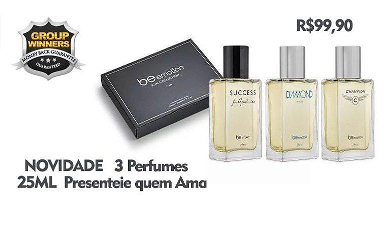 Coleção exclusiva para levar seu perfume favorito sempre com você.