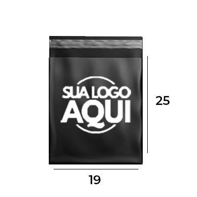 Envelope de Segurança Personalizado Black 19x25