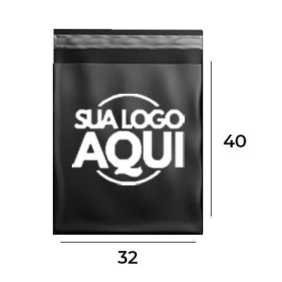 Envelope de Segurança Personalizado Black 32x40