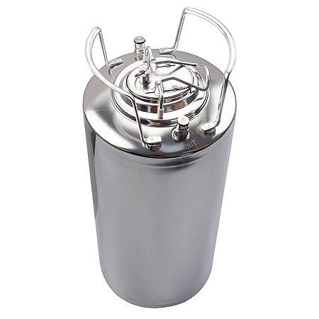Barril Post Mix Tipo Ball Lock Inox 19 Litros Cerveja Artesanal.