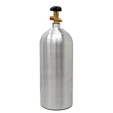Cilindro Co2 Alumínio 4,5 Kg Extração Carbonatação Cerveja.