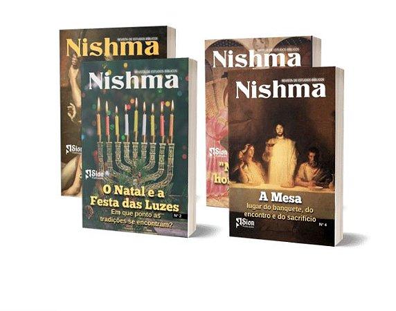 Combo 4 Revistas Nishma.